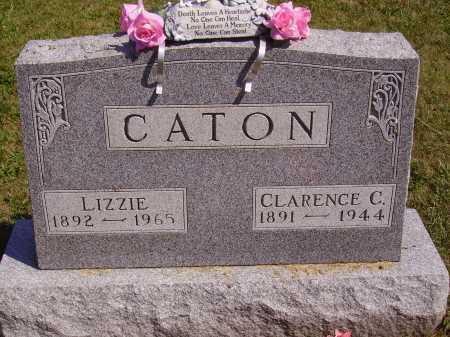 CATON, CLARENCE CECIL - Meigs County, Ohio | CLARENCE CECIL CATON - Ohio Gravestone Photos