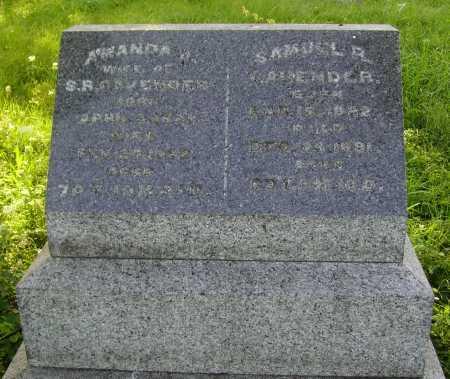 BINGHAM CAVENDER, AMANDA J. - Meigs County, Ohio   AMANDA J. BINGHAM CAVENDER - Ohio Gravestone Photos