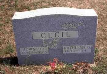 CECIL, HOWARD C. - Meigs County, Ohio | HOWARD C. CECIL - Ohio Gravestone Photos