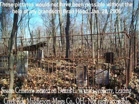 CEMETERY, SISSON - Meigs County, Ohio   SISSON CEMETERY - Ohio Gravestone Photos