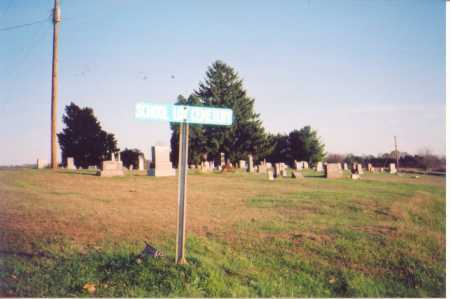CEMETERY, SCHOOL LOT SIGN & OVERVIEW - Meigs County, Ohio | SCHOOL LOT SIGN & OVERVIEW CEMETERY - Ohio Gravestone Photos