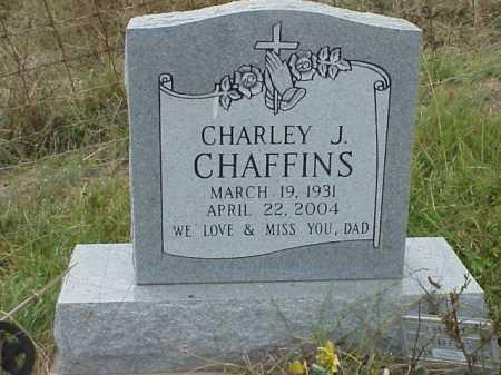 CHAFFINS, CHARLEY J. - Meigs County, Ohio | CHARLEY J. CHAFFINS - Ohio Gravestone Photos