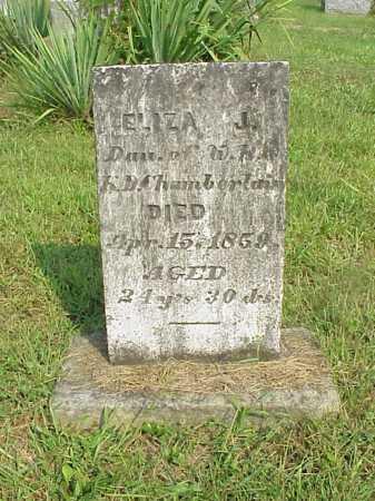 CHAMBERLAIN, ELIZA J. - Meigs County, Ohio | ELIZA J. CHAMBERLAIN - Ohio Gravestone Photos