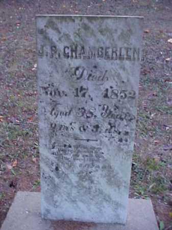 CHAMBERLEN, J.P. - Meigs County, Ohio | J.P. CHAMBERLEN - Ohio Gravestone Photos