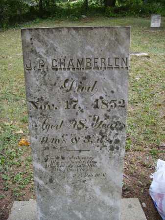 CHAMBERLEN, J. [JACOB] P. - Meigs County, Ohio   J. [JACOB] P. CHAMBERLEN - Ohio Gravestone Photos