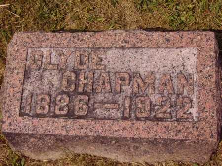 CHAPMAN, CLYDE - Meigs County, Ohio   CLYDE CHAPMAN - Ohio Gravestone Photos