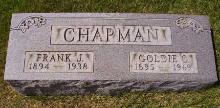CHAPMAN, GOLDIE G. - Meigs County, Ohio   GOLDIE G. CHAPMAN - Ohio Gravestone Photos