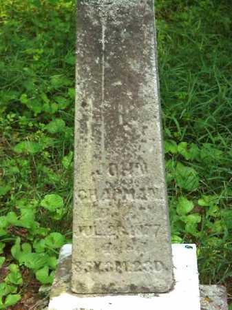 CHAPMAN, JOHN - Meigs County, Ohio | JOHN CHAPMAN - Ohio Gravestone Photos