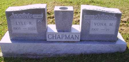 CHAPMAN, VONA M. - Meigs County, Ohio | VONA M. CHAPMAN - Ohio Gravestone Photos