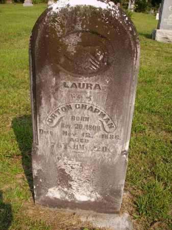 CHAPMAN, LAURA - Meigs County, Ohio | LAURA CHAPMAN - Ohio Gravestone Photos