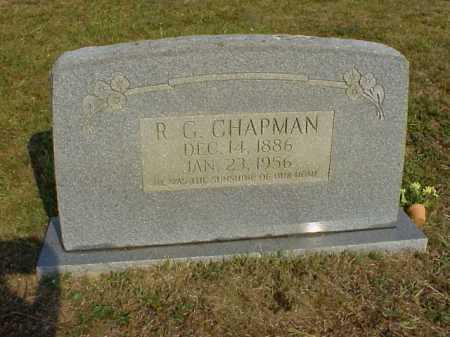 CHAPMAN, R. G. - Meigs County, Ohio | R. G. CHAPMAN - Ohio Gravestone Photos