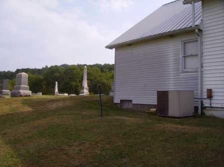 CHARLETON CHURCH CEMETERY, CHURCH ADDITION #2 - Meigs County, Ohio   CHURCH ADDITION #2 CHARLETON CHURCH CEMETERY - Ohio Gravestone Photos
