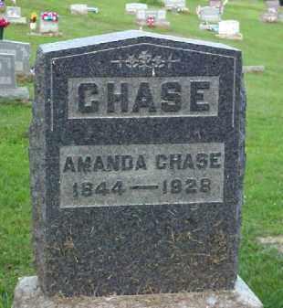 WILLIAMS CHASE, AMANDA - Meigs County, Ohio | AMANDA WILLIAMS CHASE - Ohio Gravestone Photos