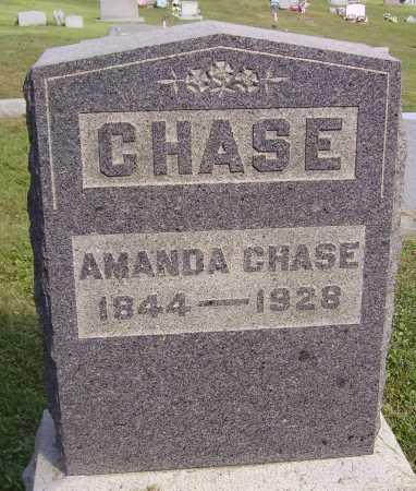 CHASE, AMANDA - Meigs County, Ohio | AMANDA CHASE - Ohio Gravestone Photos