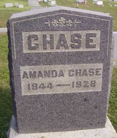 CHASE, AMANDA - Meigs County, Ohio | AMANDA CHASE - Ohio Gravestone Photos