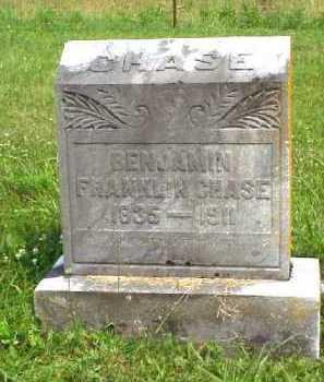 CHASE, BENJAMIN FRANKLIN - Meigs County, Ohio | BENJAMIN FRANKLIN CHASE - Ohio Gravestone Photos