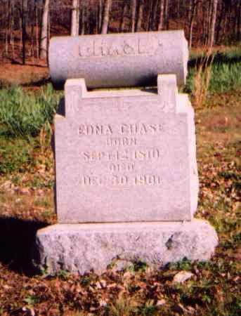 CHASE, EDNA - Meigs County, Ohio | EDNA CHASE - Ohio Gravestone Photos
