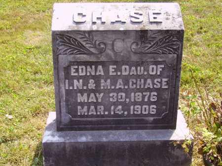 CHASE, EDNA E. - Meigs County, Ohio | EDNA E. CHASE - Ohio Gravestone Photos