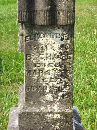 CHASE, ELIZABETH - Meigs County, Ohio | ELIZABETH CHASE - Ohio Gravestone Photos