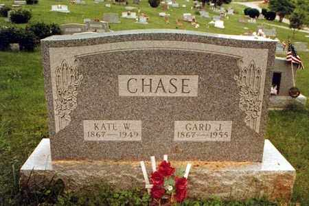 CHASE, KATE W. - Meigs County, Ohio | KATE W. CHASE - Ohio Gravestone Photos