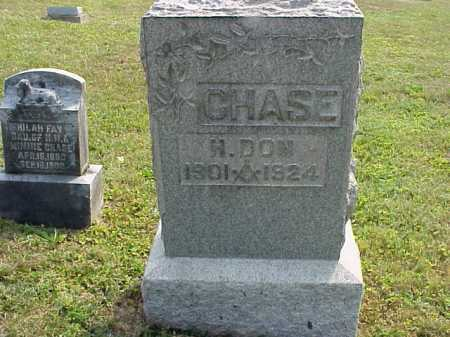 CHASE, H. DON - Meigs County, Ohio | H. DON CHASE - Ohio Gravestone Photos