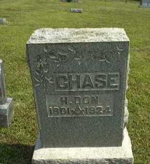 CHASE, H. DON - Meigs County, Ohio | H. DON CHASE - Ohio Gravestone Photos