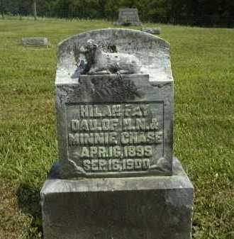 CHASE, HILAH FAY - Meigs County, Ohio | HILAH FAY CHASE - Ohio Gravestone Photos