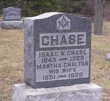 CHALFAN CHASE, MARTHA - Meigs County, Ohio | MARTHA CHALFAN CHASE - Ohio Gravestone Photos