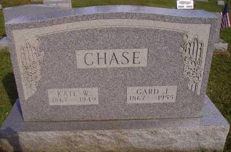 CHASE, GARD J. - Meigs County, Ohio | GARD J. CHASE - Ohio Gravestone Photos