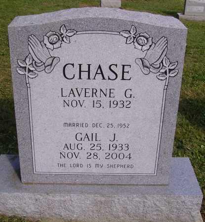 CHASE, LAVERNE G. - Meigs County, Ohio | LAVERNE G. CHASE - Ohio Gravestone Photos