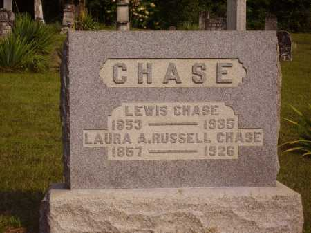 RUSSELL CHASE, LAURA A. - Meigs County, Ohio | LAURA A. RUSSELL CHASE - Ohio Gravestone Photos