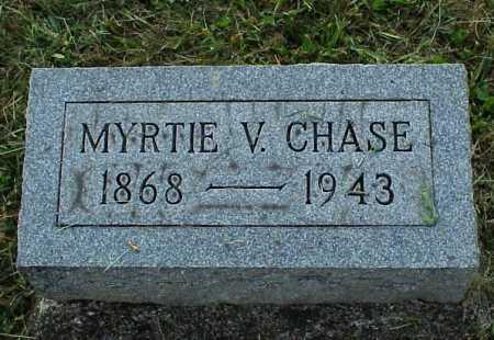 CHASE, MYRTIE V. - Meigs County, Ohio | MYRTIE V. CHASE - Ohio Gravestone Photos