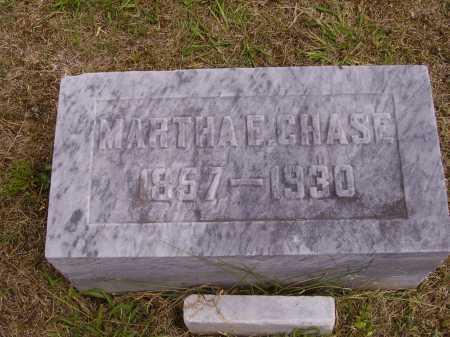 CHASE, MARTHA E. - Meigs County, Ohio   MARTHA E. CHASE - Ohio Gravestone Photos