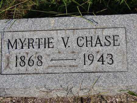 BRADFIELD CHASE, MYRTIE VIOLA - Meigs County, Ohio | MYRTIE VIOLA BRADFIELD CHASE - Ohio Gravestone Photos