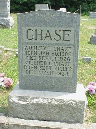 CHASE, MILDRED L. - Meigs County, Ohio | MILDRED L. CHASE - Ohio Gravestone Photos
