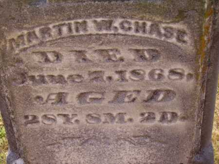 CHASE, MARTIN W. - CLOSEVIEW - Meigs County, Ohio | MARTIN W. - CLOSEVIEW CHASE - Ohio Gravestone Photos