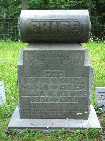 CHASE, ELIZA W. - Meigs County, Ohio | ELIZA W. CHASE - Ohio Gravestone Photos