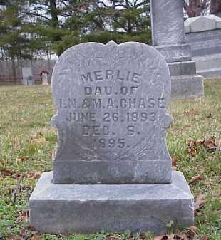 CHASE, MERLIE - Meigs County, Ohio | MERLIE CHASE - Ohio Gravestone Photos