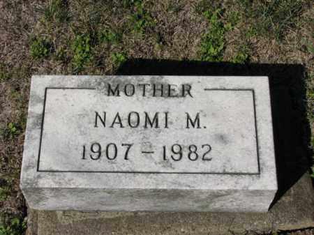CHASE, NAOMI M. - Meigs County, Ohio | NAOMI M. CHASE - Ohio Gravestone Photos