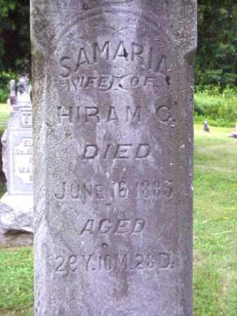 CHASE, SAMARIA - Meigs County, Ohio | SAMARIA CHASE - Ohio Gravestone Photos