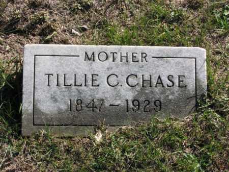 CHASE, TILLIE C. - Meigs County, Ohio | TILLIE C. CHASE - Ohio Gravestone Photos