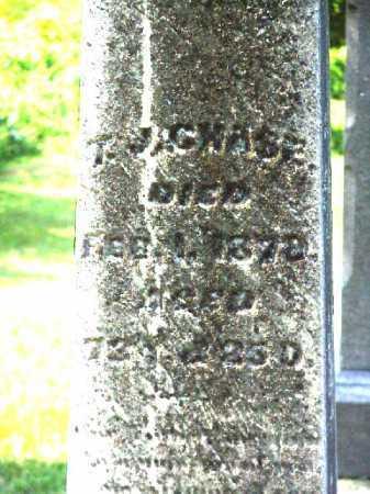 CHASE, T.J. [THOMAS JEFFERSON] - Meigs County, Ohio   T.J. [THOMAS JEFFERSON] CHASE - Ohio Gravestone Photos