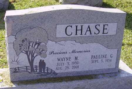 CHASE, PAULINE G. - Meigs County, Ohio | PAULINE G. CHASE - Ohio Gravestone Photos