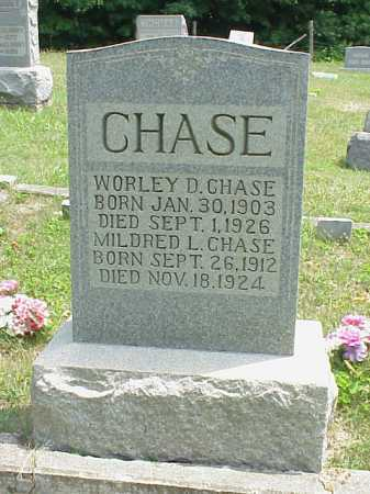 CHASE, WORLEY D. - Meigs County, Ohio | WORLEY D. CHASE - Ohio Gravestone Photos