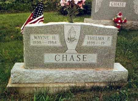 CHASE, WAYNE - Meigs County, Ohio | WAYNE CHASE - Ohio Gravestone Photos