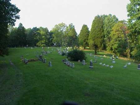 CHERRY RIDGE CEMETERY, OVERVIEW - Meigs County, Ohio | OVERVIEW CHERRY RIDGE CEMETERY - Ohio Gravestone Photos