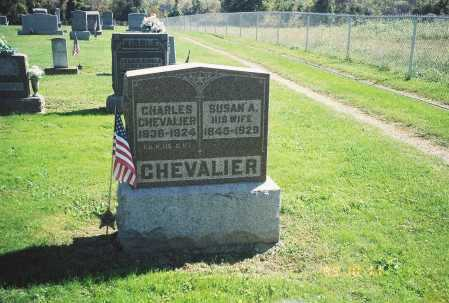 CHEVALIER, SUSAN A. - Meigs County, Ohio | SUSAN A. CHEVALIER - Ohio Gravestone Photos