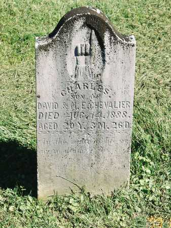 CHEVALIER, CHARLES - Meigs County, Ohio | CHARLES CHEVALIER - Ohio Gravestone Photos