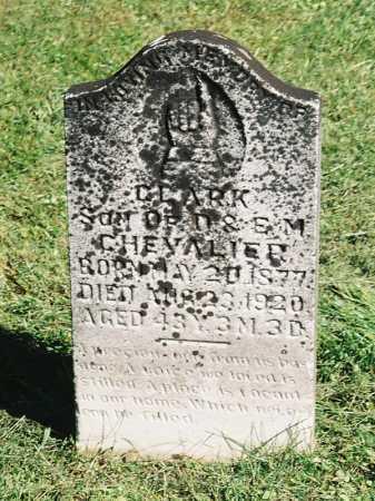 CHEVALIER, CLARK - Meigs County, Ohio   CLARK CHEVALIER - Ohio Gravestone Photos