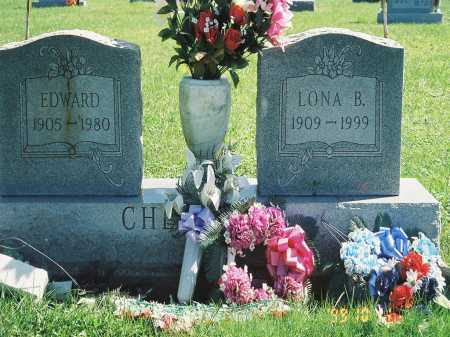 CHEVALIER, LONA B. - Meigs County, Ohio | LONA B. CHEVALIER - Ohio Gravestone Photos